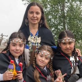 Estudiantes de Ecoescuela Kalfumalén se lucen en gala folclórica de la Región de O´Higgins