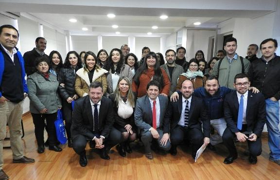 Vicepresidente Ejecutivo de CORFO lidera Dialogo Ciudadano en la comuna de Rancagua
