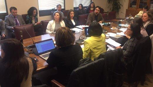 Académica UOH expuso en Comisión del Senado