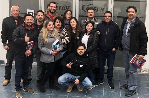 Profesionales de Red Asistencial de O'Higgins apoyan a emergencia en Quintero