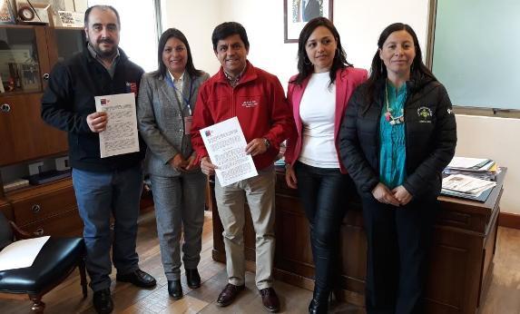 Alcaldes firman convenios para la ejecución de proyectos en materia de seguridad