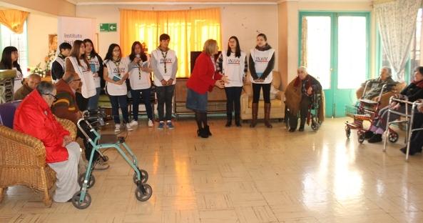 Jóvenes Scouts de Chile realizan Encuentro Intergeneracional de Lectura Acompañada