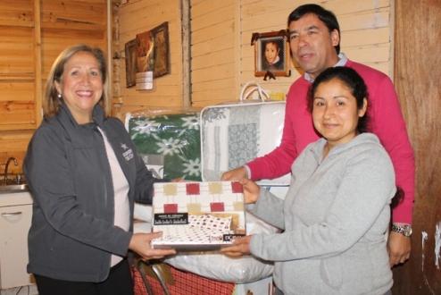 Familias del Programa de Habitabilidad de Placilla reciben Equipamientos Básicos de vivienda