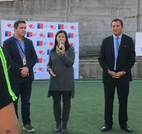 Ministra del Deporte visitó centro de justicia juvenil de Graneros