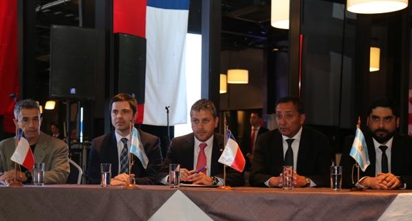 """Lanzaron oficialmente los """"XXI Juegos Binacionales de Integración Andina Cristo Redentor"""""""