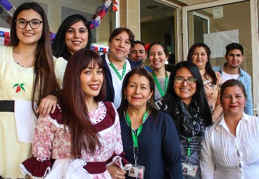 Adultos de la Unidad de corta estadía del Hospital Regional celebraron Fiestas Patrias