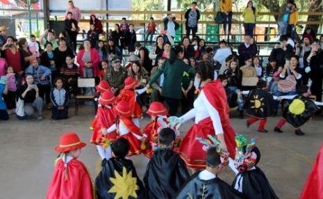 Niños de Fundación Integra en Peumo vivieron fiesta de la chilenidad