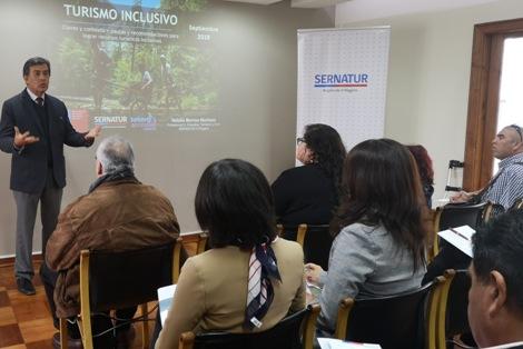 SERNATUR y SENADIS organizan Seminario de Turismo Accesible