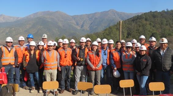 Pequeños mineros de la cuarta a la octava regiones son capacitados por ENAMI en Chancón