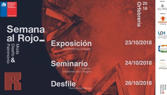 Exposición y seminario sobre orfebrería y cobre se desarrollarán en la Universidad de O´Higgins