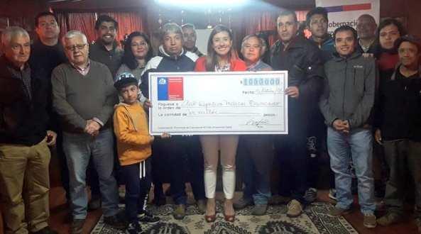 Gobernación de Cachapoal entregó recursos a agrupaciones deportivas de Rengo y Coltauco