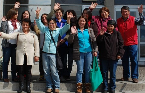 Dirigentes vecinales de La Estrella visitaron el Skyview de Agrosuper