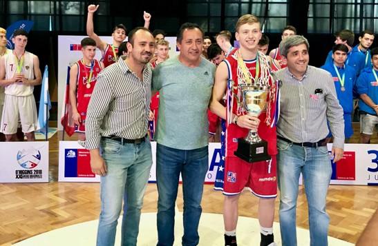 Córdoba y Valparaíso se quedaron con el oro en el Básquetbol Binacional