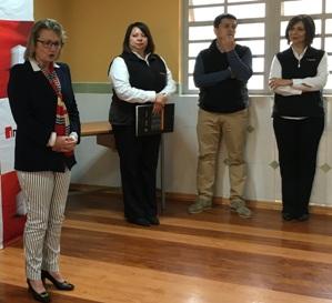 SENAME O'Higgins e INACAP Rancagua continúan capacitando en oficios a jóvenes de Graneros