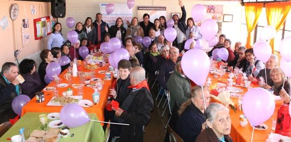 En Centro Diurno Jaime Feldman Miller de Quinta de Tilcoco celebran Día Nacional del Adulto Mayor