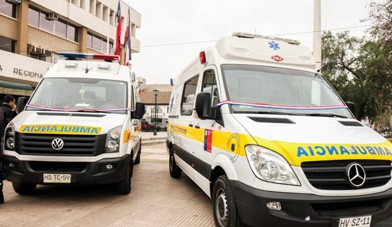 Servicio de Salud comienza histórica reposición de ambulancias