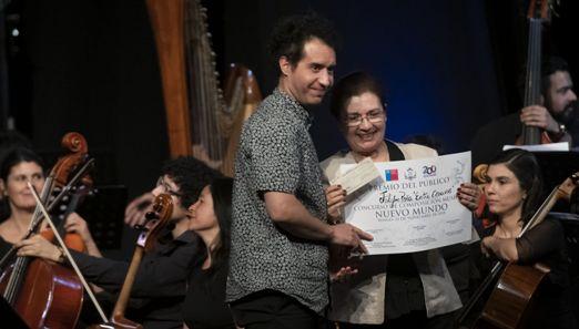 En Rengo realizan premiación del Concurso Nacional de Composición Nuevo Mundo