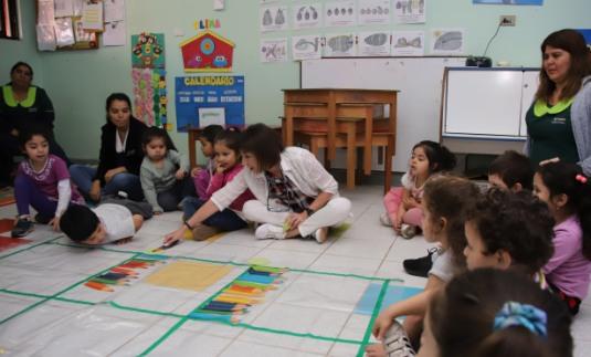 UOH realiza talleres en red de jardines Integra para difundir método matemático ABN en la región