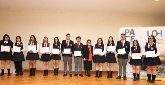 Programa PACE-UOH certificó a estudiantes que participaron del proceso 2018 en la Región de O´Higgins