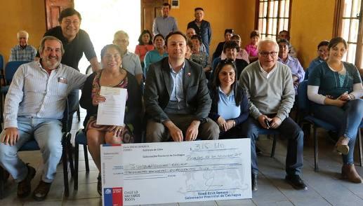 Agrupaciones Sociales de Colchagua comenzaron a recibir Fondo Presidente de la República