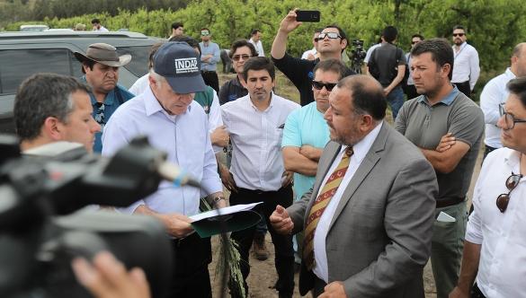 Se abre registro de productores afectados por granizo