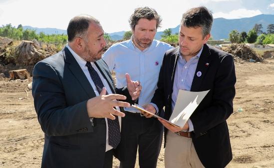 Se despeja el terreno para apertura de Jardín Infantil en Graneros