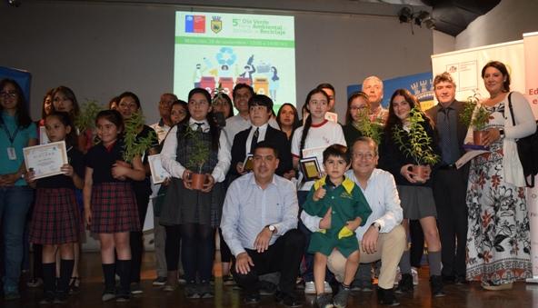 Quinto Día verde y Jornada de Reciclaje reúne a más de 15 colegios de la Región en Feria Ambiental