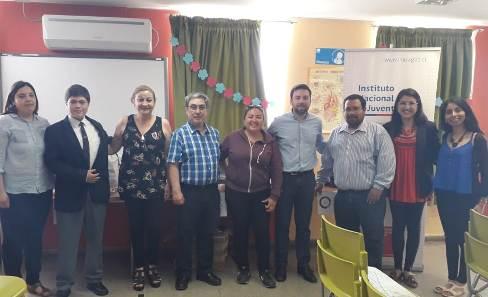 INJUV O'Higgins realizó cierre de Escuelas de Ciudadanía con alumnos de Rengo