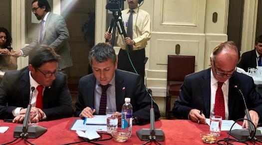 Intendente Masferrer participó de Comisión de Agricultura  del Senado