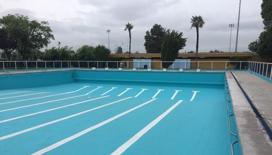 Rancagua ya se prepara para la temporada de piscina