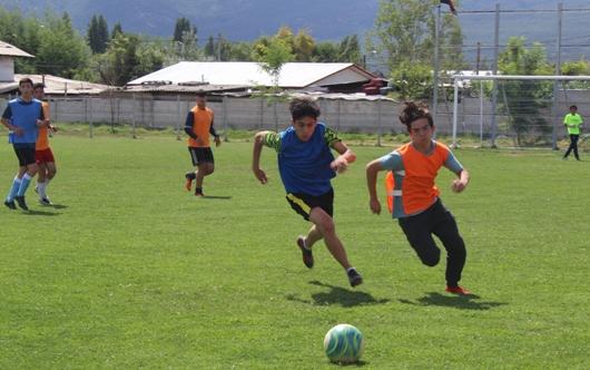 Colo Colo reclutó 6 talentos infantiles y juveniles en Doñihue