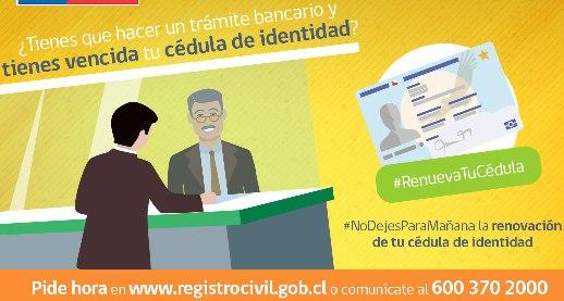 Registro Civil refuerza campaña #RenuevaTuCédula