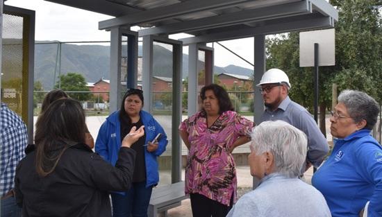 Profesionales del MINVU y del municipio de San Fernando visitaron el 100 por ciento de obras de las villas Bellavista y Los Lingues