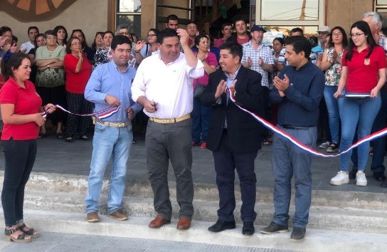 En Marchigue inauguran luminarias led y familias reciben kits eficientes