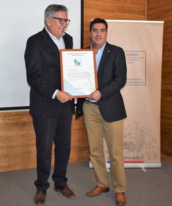 Municipio de Rancagua recibe Certificación de Ministerio del Medio Ambiente