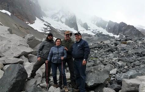 Consejo Consultivo de la SEREMI del Medio Ambiente visita Glaciar Universidad