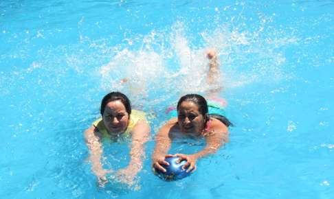 Hidroterapia para pacientes en rehabilitación