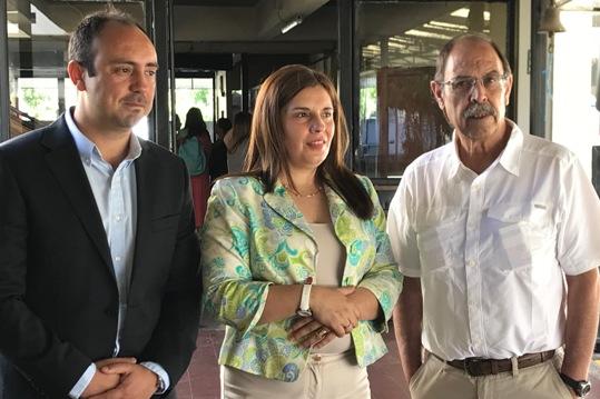 SEREMI de Educación visita nuevo Liceo Bicentenario de San Fernando