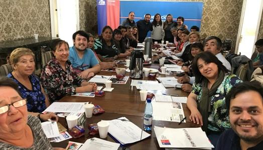 SEREMI de Gobierno realiza mesa de trabajo con Dirigentes y Emprendedores