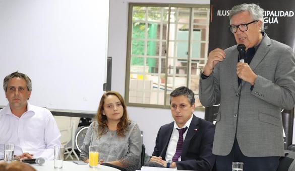 Proyecto pretende cambiar luminaria pública de Rancagua