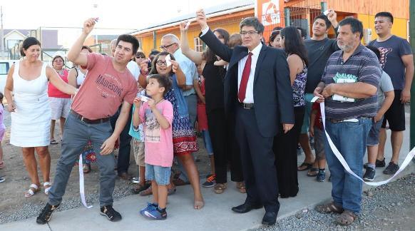 Vecinos de la Villa Galilea C inauguraron su sede vecinal