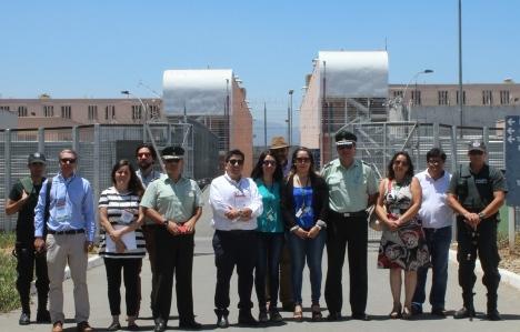 SEREMI de Energía evalúa proyecto de eficiencia energética en recinto penitenciario
