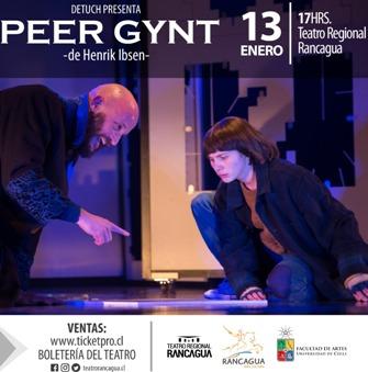 Temporada de teatro DETUCH  Obra: Peer Gynt