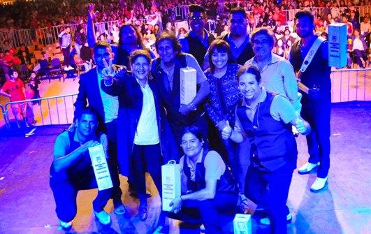 Con grandes espectáculos musicales se realizó gran fiesta Palmillana 2019