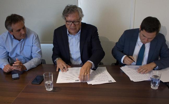 MINVU O'Higgins y Municipalidad de Rancagua firman convenio para rediseñar centro histórico de la comuna