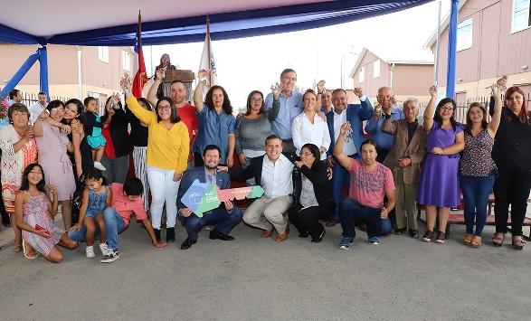 Graneros: Gobierno entregó viviendas a 145 familias