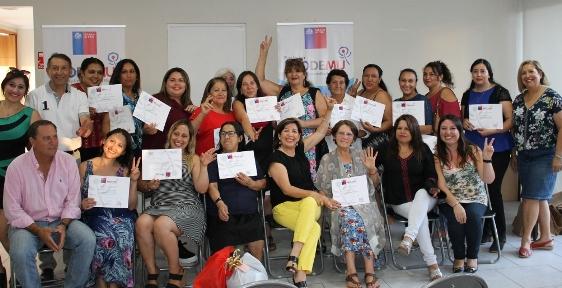 16 mujeres de Machalí participaron del Programa de Desarrollo de Competencias Laborales