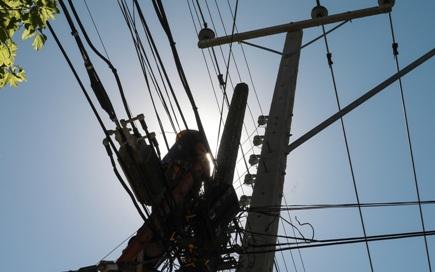 Robo de tendido preocupa a vecinos de sector sur de Graneros