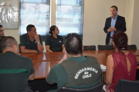 En la Cárcel de Rancagua SEREMI de Salud comenzó plan de trabajo con Gendarmería para prevenir el Suicidio