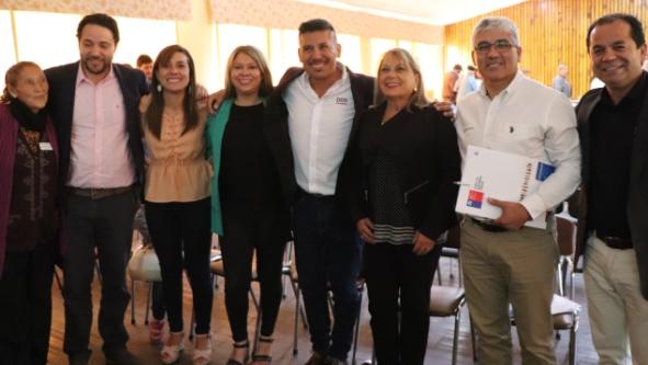 Más de 200 dirigentes participaron de escuela de formación realizada en San Vicente